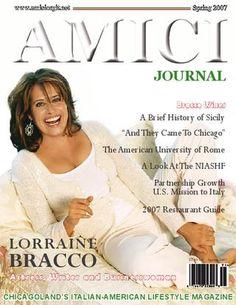 Lorraine Bracco Cover Story Amici Journal
