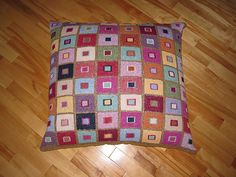 Ravelry: Madras Cushion pattern by Kaffe Fassett-- yes thats the one :)
