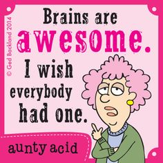 Aunty Acid by Ged Backland Monday, July 21, 2014