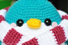 @Johanna Hemenway     All About Ami - Pattern: Snuggles the Penguin