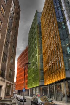 Central Saint Giles by Renzo Piano ::  London UK Google Offices photo by 60D (https://ssl.panoramio.com/user/7068105)
