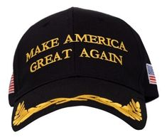 6711f7439e1 Details about Trump Hat President Make America Great Again MAGA Baseball  Cap Hat BLACK Olive