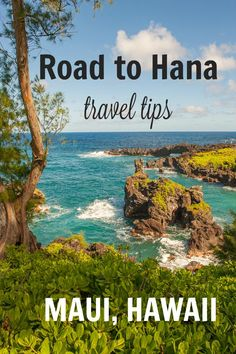 Heading to Maui, Hawaii? Be sure to do the Road to Hana, one of the world's most beautiful road trips! PIN THIS GUIDE to the best Road to Hana stops (with mile markers), tips for deciding whether to drive or do a tour, and travel planning essentials.