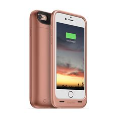 CARATULA MOPHIE JUICE PACK AIR IPHONE 6 PLUS / 6S PLUS 5.5 PULGADAS ROSA DORADO