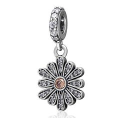 Choruslove Daisy Flower Charms Clear and Champagne Stone ... https://www.amazon.com/dp/B01IUSH2Y0/ref=cm_sw_r_pi_dp_x_v42szbN6CENPD