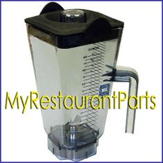 Allpoints 32 1047 Vitamix 15506 48 oz Container Assembly w Ice Blade and Lid | eBay 188.20