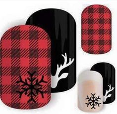Fall Nails! I love flannel and plaid! Friday Flannel and Into the North Jamberry