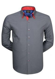 Nieuwe collectie Arya Boy Italiaanse overhemden bij Italian Style. Deze collectie Italiaanse heren overhemden is weer zeer verfrissend met trendy grijze en rode kleuren.