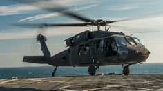 A U.S. Army UH-60 Blackhawk helicopter © Mark El-Rayes