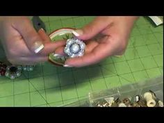 Beaded Embelishments Tutorial My Version - YouTube