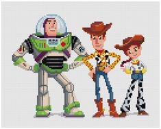 PDF Cross Stitch pattern Toy Story INSTANT DOWNLOAD
