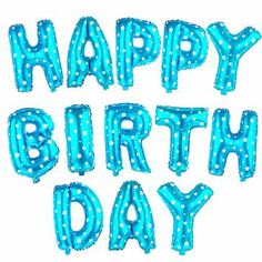 בלוני יום הולדת למילוי באוויר או הליום, 6 אפשרויות צבע
