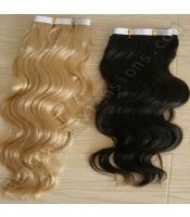 Body wave skin weft virgin hair extensions, assured premium quality.