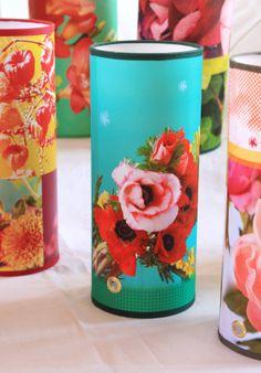 """lampe à poser """"mimosa"""" Sophie Plouvier http://sophie-plouvier.com/les-lampes-fleuries/"""