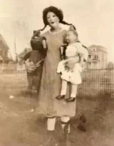A doll maker in the 1920's. She was an elementary school teacher. She wanted to make her dolls look so real, she cut hair off of her students. She even skinned off some of her daughter's skin for one particular doll. She was caught and found not guilty for reason of insanity.