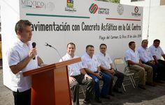 Periodismo sin Censura: Mauricio Góngora cumple con obras de pavimentación...