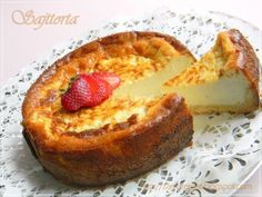 Zamat és illat: Sült sajttorta Sweet Tooth, French Toast, Food And Drink, Pie, Sweets, Breakfast, Recipes, Mascarpone, Pinkie Pie