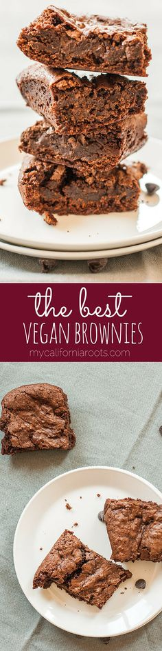 The Ultimate Vegan Brownies