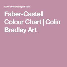 Faber-Castell Colour Chart | Colin Bradley Art