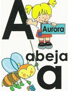 Abecedario para primer grado o 3 preescolar by Jesus Jiménez via slideshare