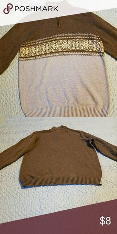 Boy's Class Club dress sweater size 12/14 Nice with jeans or dress pants to weather the frigid weather. It is in excellent condition.  Worn less than 5 times. Class Club Shirts & Tops Sweaters