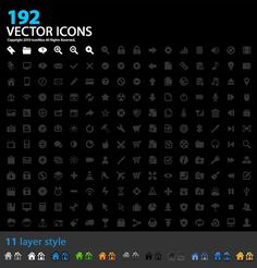 Free Download: 192 Designer Icons For Your Next Project