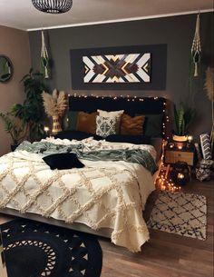 Room Ideas Bedroom, Home Decor Bedroom, Master Bedroom, Western Bedroom Decor, Aesthetic Bedroom, Dream Rooms, My New Room, Room Inspiration, Interior Design