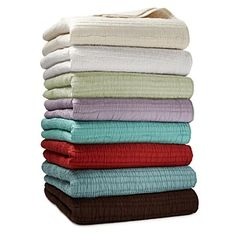 Sky Pintuck Quilts & Shams - Blankets & Throws - Bedding - Categories - Home - Bloomingdale's