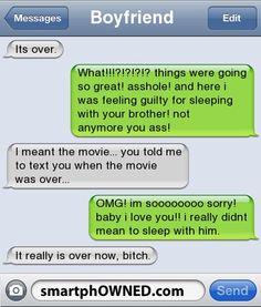 BoyfriendIts over.