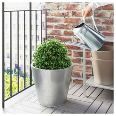 IKEA - SOCKER Watering can galvanized indoor/outdoor,