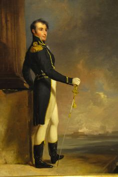 Thomas Sully - Stephen Decatur, 1814 at Baltimore Museum of Art Baltimore MD Barbary Wars, Mr Bingley, Naval History, Nautical Art, Men In Uniform, Sully, Tall Ships, Pride And Prejudice, Painting Art