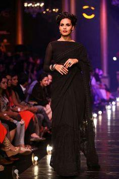Elegant evening Sari
