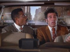 Who told you to the balm on?,  Phil Morris , Michael Richards