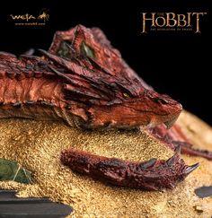 Der Hobbit Smaugs Einöde Statue Smaug King Under The Mountain 8 cm  Der Hobbit - Figuren Smaug - Hadesflamme - Merchandise - Onlineshop für alles was das (Fan) Herz begehrt!