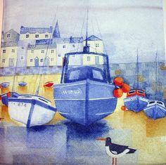 Servilletas para Decoupage servilletas de papel marítimo por YWart