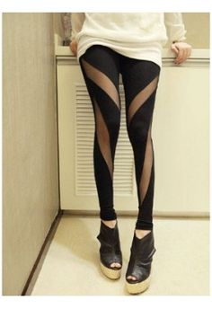 Legging Fashion transparent