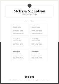 Make your resume, cover letter and references look fantastic and consistent with a modern, creative and elegant resume template pack. One Page Resume Template, Modern Resume Template, Creative Resume Templates, Cover Letter For Resume, Cover Letter Template, Letter Templates, Resume References, Creative Cv, Creative Design