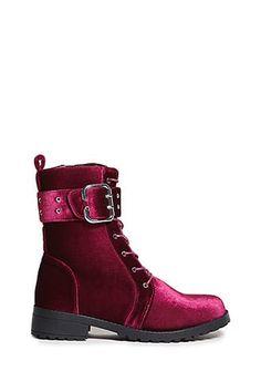 2f3e59d9b Privileged Shoes Velvet Boots Velvet Ankle Boots