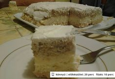 Homoktorta Vanilla Cake, Cookies, Food, Crack Crackers, Biscuits, Essen, Meals, Cookie Recipes, Yemek