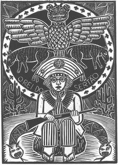 Lampião, o Rei do Sertão-gravura