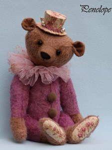 Sandras Bärenbande... die mit den Rosen - Artist Bears and Handmade Bears