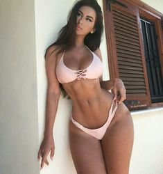 SEXY WIDE HIPS & AMAZON GODDESS BIKINI BODY of Russian #Fitness model Anastasiya Kvitko : if you LOVE Health, Workouts & #Inspirational Body Goals - you'll LOVE the #Motivational designs at CageCult Fashion: http://cagecult.com/mma