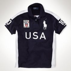 Newest Ralph Lauren Big Pony USA Symbol Flag Navy Sporty Polo [rl - : Ralph Lauren Polo Outlet UK www. Addidas Shoes Mens, Camisa Polo Ralph Lauren, Polo Outfit, Ralph Lauren Custom Fit, Le Polo, Preppy Men, Country Shirts, Polo T Shirts, Mens Tops