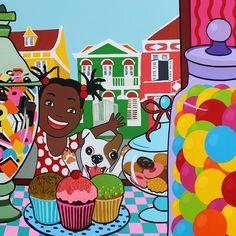 Candystore in Curacao, Pietermaaismal.