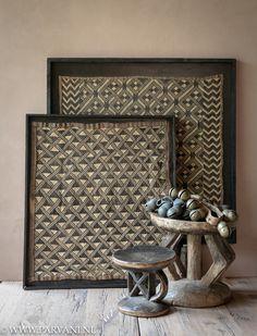 Mood Board Interior, Rustic Contemporary, Unique Home Decor, Congo, African Art, Rustic Decor, Home Goods, Original Art, Frame