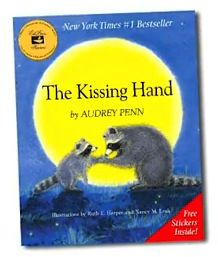 FREE Online Read-A-Loud for Kids: The Kissing Hand...the first book both of my boys read in Kindergarten... <3 :)