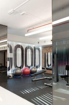 Rush Gym Interior, 2012 Kuwait