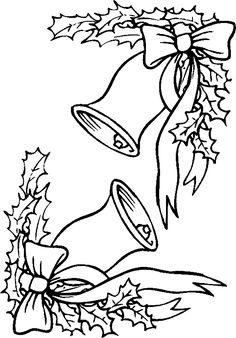 Figuras de Navidad para Colorear e Imprimir Archivos Dibujos