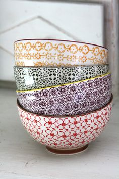 Ideal bowls My Dream Home, Decorative Bowls, Tableware, Interior, Pretty, Kitchen, Houses, Home Decor, Colors
