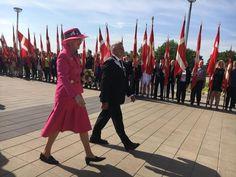 GALLERI: Se billederne fra Dronningens besøg i Varde